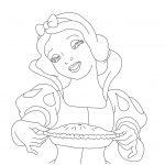 Disney Princess Coloring Snow White