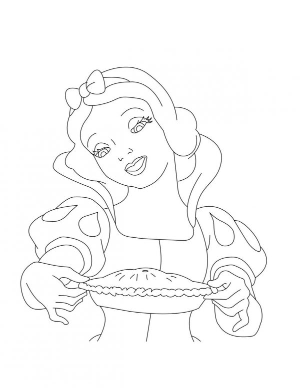 Disney Princess Coloring Snow White