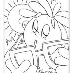 Beach Coloring Page