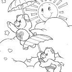 Care bears sunshine coloring pages