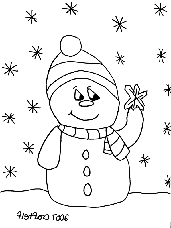 Free Pribtable Christmas Coloring Pages