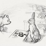 Pooh Goes Visiting coloring