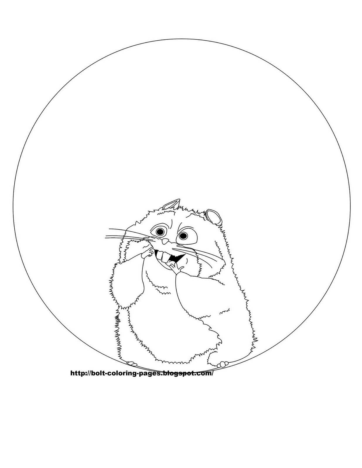 Bolt coloring pages rhino
