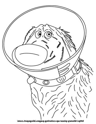 Pixar UP coloring pages